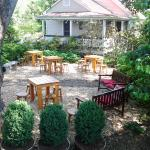 Come enjoy our shady, outside space with a beer!
