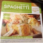 This new Alfredo Pie is awesome. Service was great of course. Olive Garden is usually pretty goo