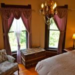 The Forest View Room has a king size bed that can be split into two singles if needed
