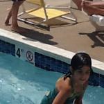 pool happy child