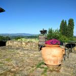 Stunning private areas with amazing views of the Tuscan countryside