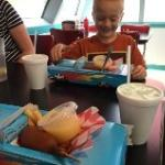 The '57 Chevy Kids Meal is a treat!