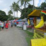 Port Douglas markets 5 mins away