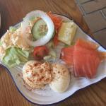 Egg Mayonnaise with Salmon