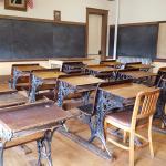The mock school room