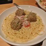 Meatball pasta.. super simple and yummy.