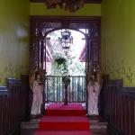 este es portico del hotel