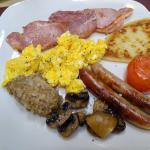 Full Scottish Breakfast was soooooooo good! Best of our trip!