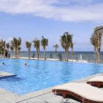 Private beach with nice swimming pool for lazy and also active people