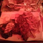 Ribs steack et poulet
