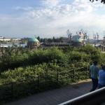 Sehr schöner Blick auf den Hafen