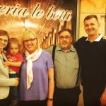 Mieliśmy zaszczyt zrobić sobie zdjęcie z właścicielami restauracji, pasjonatami włoskiej kuchni