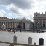 St. Peters Square. Monday afternoon.