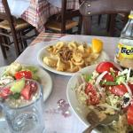 Very delicious Greek traditional food! Very large portion! The waiter is very friendly, the good