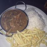 chicken stroganoff !!! too much like the pepper chicken :(