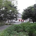 神武殿旧址(正面左側)