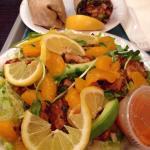 Carribean Salad & Havana Whole Wheat Wrap