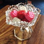 Specialty chocolate roses made in house