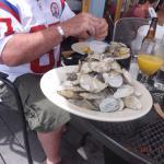 sweet local clams at capt. carlos.