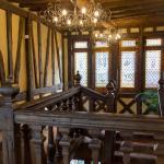 Escalier menant à l'accueil