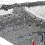 Spiaggetta privata dell'Hotel