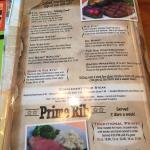 New menu!