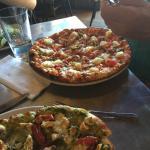 Hot Hawaiian pizza at Gil's Goods.