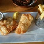 Fish & chips et Chicken sauté