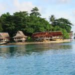 Over the water bungalows Nusa Island Retreat