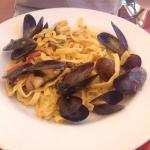 Mussels and Pasta