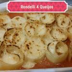 Rondelli de 4 queijos ao Pomodoro