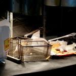 Tops Bar BQ french fry station