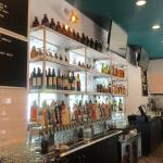 Gourmet Burgers and Bottoms Up Pizza with 31 Craft beers make this resturant a huge welcome to W
