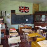 Inside the school house