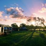 Clean air and beautiful sunsets at Childers Ecolodge