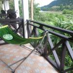 Nice clean hammock in the balcony