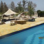 khaïma près de la piscine