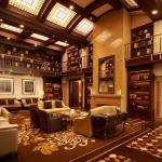 The St. Regis Bar Library
