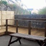 New beer garden