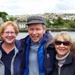 4 ladies travelling in Ireland