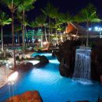 Paradise Pool Night