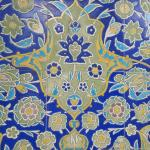 Tile detail from the nearby mosque