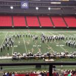 DCI performance in the Georgia Dome