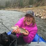 Fly fishing with Fly Fishing Always in the bitterroot, Montana