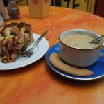 Coffee and (delicious) Apple cake