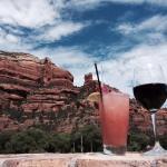 Wonderful drinks and views
