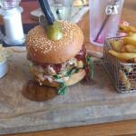 Fat pig burger