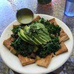 Protein Buddha: kale, avocado, tofu