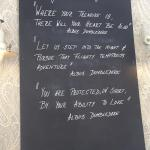 Creative chalkboard