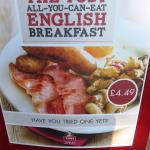 The best value breakfast in the UK!! (08/Jun/16).